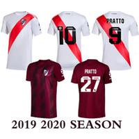 Wholesale river plate football shirt for sale - Group buy 2019 River Plate Soccer Jersey Rodrigo Mora Football Shirt Sanchez VALDIVIA MEDEL VIDAL soccer jersey ALEXIS high quality