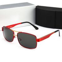 ingrosso driver audi-Audi 553 HD Polarized Sunglasses Uomo donna Driver Mirror occhiali da sole Polaroid Lens Occhiali senza montatura Occhiali da sole sportivi di alta qualità