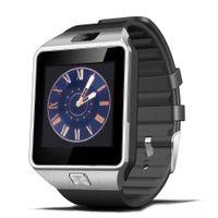 u8 relógios inteligentes para homens venda por atacado-HESTIA DZ09 Relógio Inteligente para os homens Suporte Cartão SIM TF câmera Eletrônica Relógio De Pulso Conecte Smartphone Android PK U8 Smartwatch