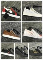 chaussures de sport à glissière pour hommes achat en gros de-Italie Luxe Casual Chaussures Zanotti Zipper Hommes et Femmes gz Low Top Chaussures Plates en Cuir Véritable Frankie Pyton Kirk Baskets Baskets Double