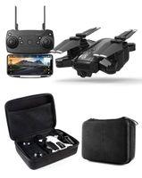 quadcopter kamera gps großhandel-Neue Drohne GPS 1080P HD Kamera 5 GHz Follow me WIFI FPV RC Quadcopter Faltbare Selfie Live Video Höhe Halten Auto Rückgabe RC Drohne 1pcs DHL