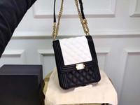 Wholesale ladies handbag suede for sale - designer bags Le boy luxury handbag fashion totes chain shoulder purse bag women designer ladies fashion purses bag