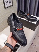 Wholesale fashion business men casual shoes for sale - Group buy Male classic genuine leather casual driving oxfords mens fashion loafers Brand Party Business dress shoes Zapatos Hombre size
