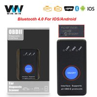 Wholesale obd tool android resale online - ELM V1 PIC18F25K80 OBD2 Bluetooth Scanner For Android OBD OBD2 Car Diagnostic Auto Tool ELM327 Bluetooth Scanner