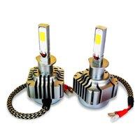 Wholesale led headlight conversions resale online - Winsun Car Headlights H4 Led Light Bulbs for K White Light W LM H1 LED Light Car Headlight K Vehicle Conversion Bulb