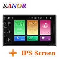 универсальный аудиодиск оптовых-KANOR Octa Core Оперативная память 4G ROM 32G 2 Din Android Audio 9,0 Автомобильный стерео радио с GPS WiFi Универсальный GPS-навигаторы Видео автомагнитол автомобильный DVD