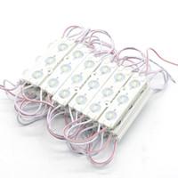 led-streifenmodule großhandel-LED-Modul Lichtspeicher Frontscheibe Licht Zeichen Lampe 3led SMD 5630 Injection weiß IP68 Wasserdichte Streifen Licht LED Hintergrundbeleuchtung