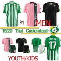 ingrosso jersey caldo-Thai 19 20 Reale Betis maglia da calcio Juanmi MANDI maillot de foot FEKIR JOAQUIN maglia da calcio Real Betis 19-20 camiseta de futbol Kit CALDO