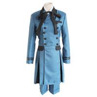 trajes de ciel al por mayor-Mayordomo negro kuroshitsuji Ciel Phantomhive Cosplay traje disfraz Sebasti Kuroshitsuji Aristócrata Cosplay