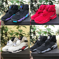 Wholesale best running shoes band resale online - 2019 New Best Quality s Mens Basketball Shoes Black White Red Men Sports Sneakers Designer Shoes US Sizes