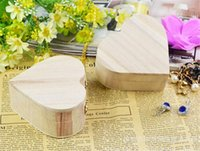 Wholesale heart shaped storage boxes for sale - Group buy Hot Home Housekeeping Storage Boxes Heart Shape Wood Box Wedding Gift Home Storage Bin Earrings Ring Box Jewelry Box