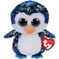 Wholesale penguin stuff toys for sale - Group buy Pyoopeo Ty Sequins Flippables quot cm Payton the Blue Penguin Plush Regular Stuffed Animal Collection Doll Toy with Heart Tag