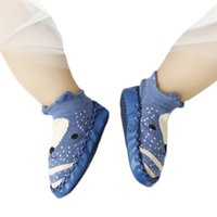 calcetines antideslizantes para niños pequeños al por mayor-6 pares / lote Lawadka Fox Baby Calcetines Calcetines para bebés recién nacidos Calcetines antideslizantes con fondo de cuero Calcetines para bebés Ropa
