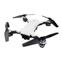 gerçek uzaktan kumandalı helikopter toptan satış-YH-19HW Katlanabilir RC Drone RTF WiFi FPV / G-Sensörü Modu / Irtifa Tutun WiFi Kamera Ile 2.4 GHz Uzaktan Kumanda Oyuncak RC H ...