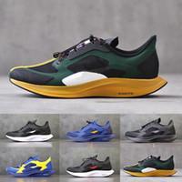 zapatillas pegasus al por mayor-2020 abeto Gyakusou zoom Pegasus 35 los zapatos Turbo X funcionamiento de las mujeres del hombre apenas gris negro amarillo Triple entrenador Deporte diseñador de zapatos de plataforma