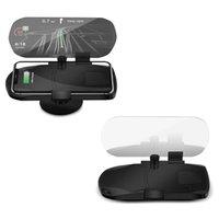 ingrosso visualizzazione del hud dell'automobile del bluetooth-Auto testa di navigazione del display di proiezione Bluetooth per auto ricarica HUD proiezione Banco di mostra per il telefono di navigazione