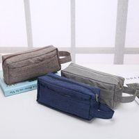 Wholesale cosmetic logos for sale - Old Cobbler direct deal Customized logo Cosmetic Bag Outdoor sport Zipper handbag fashion Storage bag Wash bag