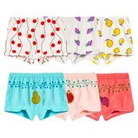 3t boxershorts großhandel-Kind cartoon baumwolle boxershorts mode underwear nette mädchen atmungsaktive unterhose junge kind baby boxershorts