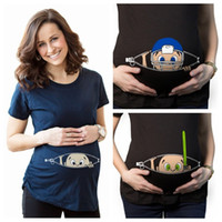 31f5c9cbd New Maternity Shirt Specialized for Pregnant Women Cartoons Cute Funny Baby  Short Sleeve Tops Graphic Blouse