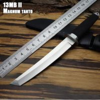 Wholesale knife fix blade cold steel for sale - Group buy Small SAN MAi Samurai MAGNUM Tanto Blade Tai pan Survival Fixed Gear Knives SRK RTK c Blade Hunting Knife Cold tool Steel Outdoor knife