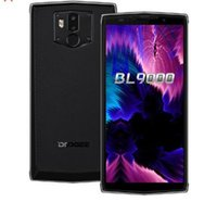 Wholesale doogee cell phones resale online - DOOGEE BL9000 mAh Fast charge Smartphone MT6763 Octa Core GB GB MP Mobile phone FHD Screen NFC Cell Phone
