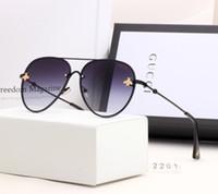 melhores óculos sem moldura venda por atacado-2019 Moda Qualidade Óculos Moda Marca de polarização estilo europeu e americano de luxo Óculos Frameless Luxury Sunglasses Best Selling
