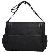 tasarımcı siyah beyaz çanta toptan satış-Tasarımcı-Yeni Bayan Tuval Hobo Bebek Bezi Çanta Tasarımcısı Omuz Çantaları Kahverengi Siyah Pembe Beyaz Bebek Bezi Çanta Mumya Anne Çanta