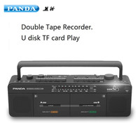 Wholesale PANDA F double tape campus radio students learning a foreign language karaoke radio repeater radio cassette recorder
