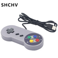 Wholesale snes controller for pc for sale - Group buy USB Game Controller Game Joystick Gamepad Controller for PC Windows MAC Computer for Linux SNES Raspberry Pi Gamestick Control