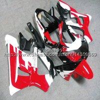 honda cbr 929 carenagens vermelho venda por atacado-Presentes + Parafusos Molde de injeção vermelho branco preto motocicleta casco para HONDA CBR929RR 2000-2001 CBR 929 RR 00 01 ABS motocicleta Fairings casco