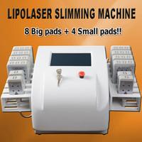 yağ yakıcı lazer makinesi toptan satış-Diode Lipo Lazer lazer lipoliz yağ eriterek lipolaser zayıflama makineleri