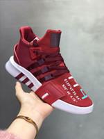 sapatos de corrida do euro venda por atacado-Adidas EQT Basketball ADV 2019 de alta qualidade O mais recente EQT Bask ADV tênis, sapatos masculinos e femininos, calçados esportivos profissionais EURO 36-45