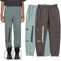 pantalones al por mayor-Season 5 Calabasas Pants Sweatpants Hombre Mujer Kanye West Joggers Streetwear Pantalones de hip hop Cordón OVERSIZE Calabasas Pantalones