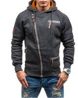 mode schweiß passt männer großhandel-Anzug Männer Casual Hoodies Sweatshirt Streetwear Hoodie Sweat Homme Männer Windbreaker Jacke Brand Fashion Hip Hop