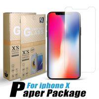lenovo a8 al por mayor-Temperd Glass para iPhone Samsung A20 A70 A50 Coolpad LG Stylo 5 Google Pixel 3XL Protector de pantalla 0.33MM Protector Film Paquete individual