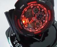 relógios femininos venda por atacado-Entrega gratuita 2019 Moda Masculina das Mulheres G Estilo esportes relógios de Pulso dupla exposição LED Digital Choque de Quartzo Relógios Esportivos Masculinos Estudantes relógio