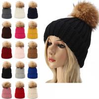 weben beanie großhandel-Kinder Strickmütze Hüte Cute Baby Winter Warm Bonnet Pompon Ball Hut Kinder Outdoor Weave Ski Cap TTA1697
