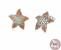 Wholesale genuine zircon earrings for sale - Group buy SPE Genuine Sterling Silver Lucky Beast Guardian Zircon Drop Earrings for Women Sterling Silver Jewelry