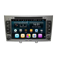 Wholesale touch wheel for sale - Group buy Android inch core for peugeot CD Car Steering Wheel USB vidio HD1080 support you set any wallpaper Wifi Head Unit