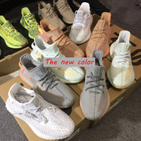 159c78aec1714 With Box Top Quality Static Yeezys Yezzy Yezzys Yeezy 350 Best Quality Kanye  West Men Running Shoes Hyperspace True form Clay Butter Sesame Cream White  Bred ...