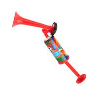 fabricantes de ruido deportivo al por mayor-Bomba de bocina de aire de mano Fabricante de ruido Eventos deportivos Fútbol Altavoz de plástico Trompeta trompeta Noisemaker Juguetes Suministros para la fiesta