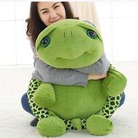 Wholesale big eyes turtle toys resale online - 20 cm Cartoon Big Eyes Tortoise Toys Stuffed Pillow Plush Turtles Toys Aniamls Dolls Lovely Soft Plush Toys Dolls for Kids