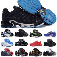 Wholesale sell tn shoes for sale - Hot Sell New Mens Air Tn Shoes New Black White Red TN Plus Ultra Fashion Casual Shoes Cheap TN Requin Trainer Walking Shoes