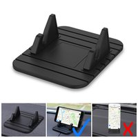 Wholesale car phone holder window universal online – Car Mount Soft Silicone Phone Holder Universal Window Windshield Dashboard Phone Stand Holder For GPS Mobile smartPhones New Coming