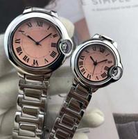 precio del reloj japon al por mayor-2019 venta caliente del reloj para los hombres / mujer stell pulsera de cadena relojes de mujer Diamantes de moda Relojes amantes reloj precio al por mayor movimiento de japón
