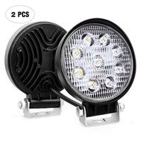 Wholesale 4 quot inch W LED Working Light Flood Lamp Motorcycle Tractor Truck Trailer SUV JEEP Offroad LarcoLais with Video