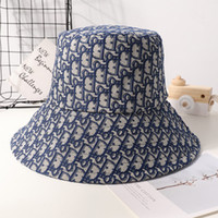 Wholesale fall hats for sale - Group buy New fashion casual fisherman hat men s and women s letters sun hat women autumn and winter Korean version of the tide double faced jacquard
