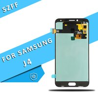 hd ds оптовых-Супер Amoled HD для ЖК-дисплея Samsung J4 J400 J400F J400F / DS J400G / DS 2018 с сенсорным цифрователем 5.5 дюймов Замена экрана