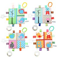 Wholesale taggies toys for sale - Group buy 19 cm Multipurpose gum soothing towel Baby Appease Towel kid Comforting Taggies Blanket Super Soft Square Plush Toy Baby Appease Comforti