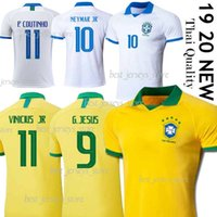 Wholesale jersey brazil thai for sale - Group buy Thai Brazil soccer jersey G JESUS COUTINHO VINICIUS jersey football shirt MARCELO camisa de futebol copa america